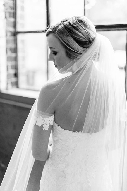 black-and-white-bride